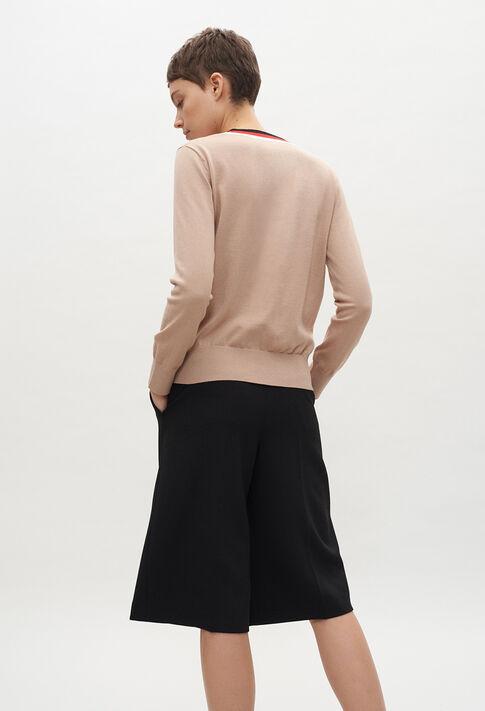MACEDAE20 : Maille & Sweatshirts couleur BEIGE