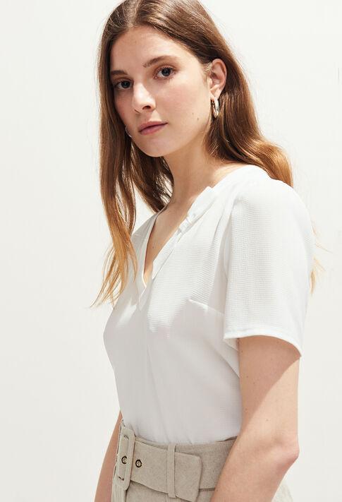 BOWLING BIS : Tops et Chemises couleur ECRU