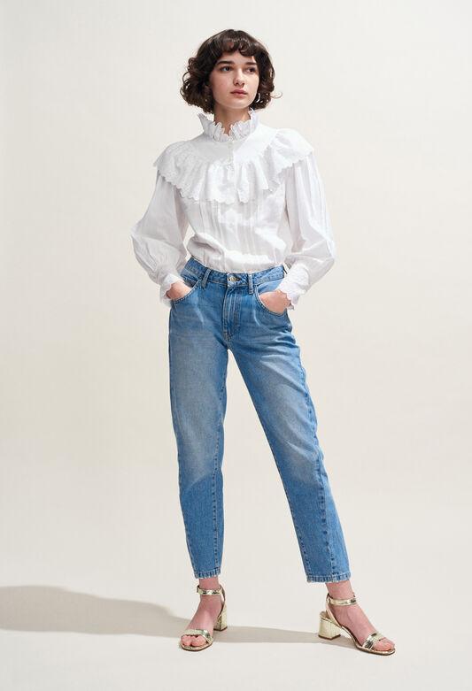 CALMI : Tops & chemises couleur BLANC