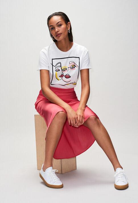 SELMAH19 : Jupes et Shorts couleur BUBBLE GUM