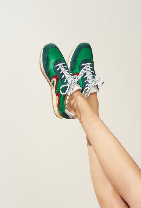 ABIGAILLE : Chaussures couleur VERT