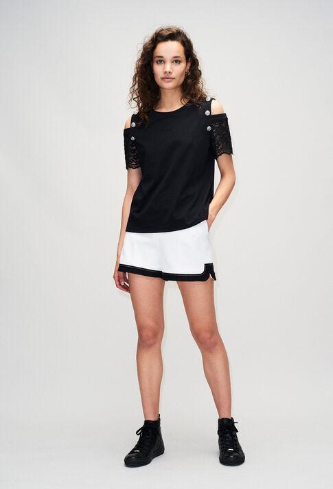 TRENDYH19 : T-Shirts couleur NOIR