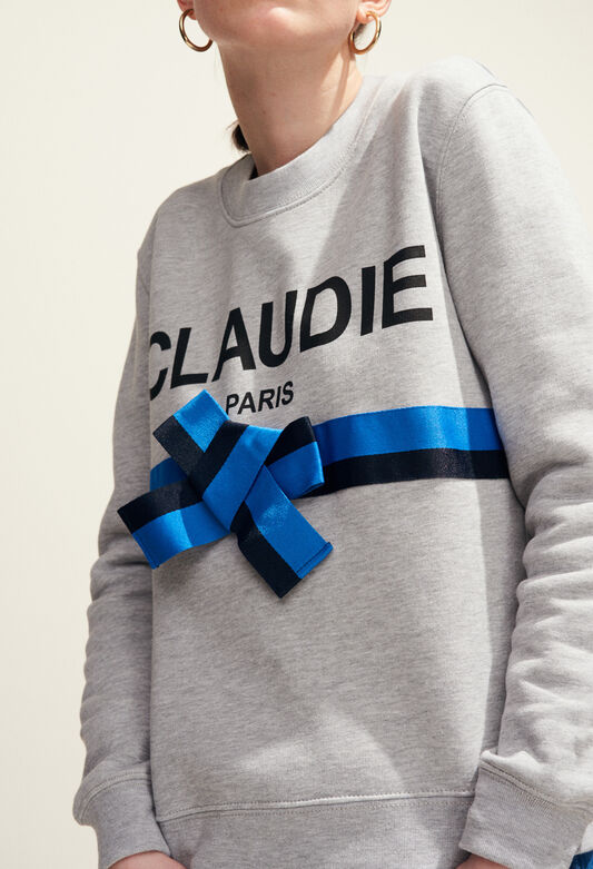 TRADI : Maille & Sweatshirts couleur GRIS CHINE