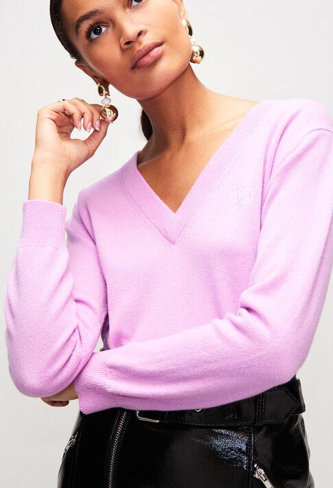 MYPINKH19 : Maille & Sweatshirts couleur LILAS