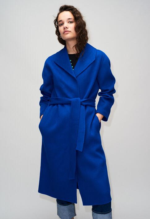 GRACIEUXH19 : Manteaux et Blousons couleur BLEU ROI