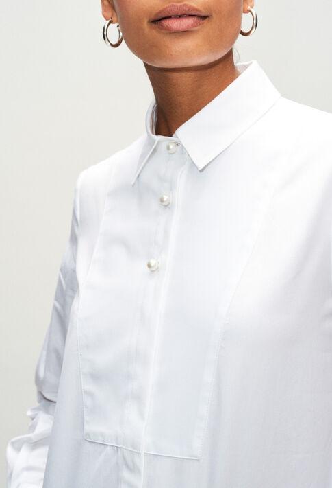 CHACHAH19 : Tops et Chemises couleur BLANC