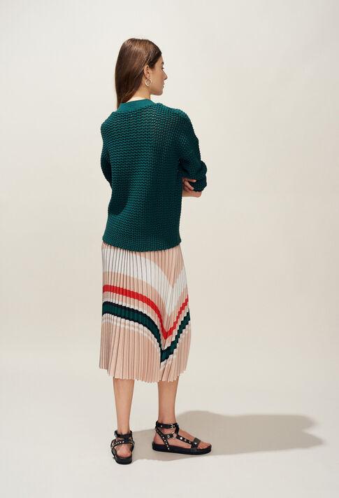 MODERNE : Mailles & Sweatshirts couleur VERT IMPERIAL