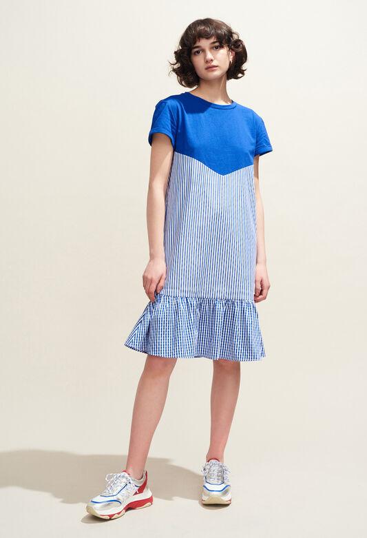 1b85f50bf4a TOMIJI   Robes couleur INDIGO