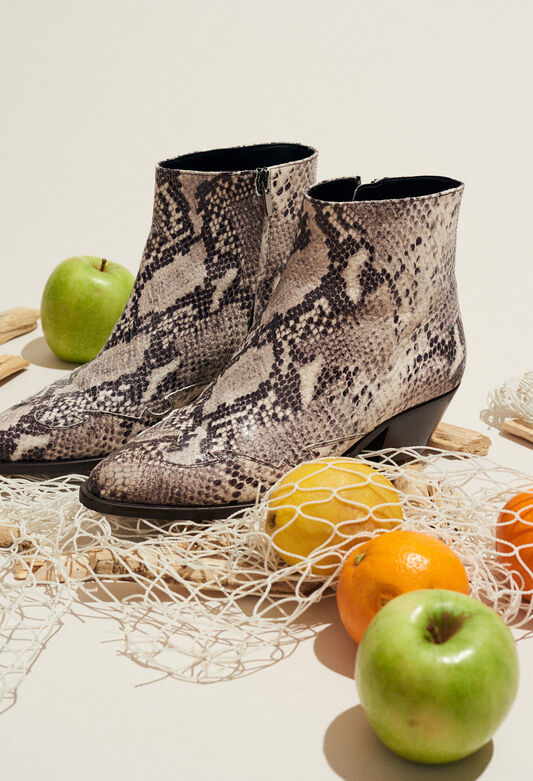 ARABICA SNAKE : Chaussures couleur BEIGE