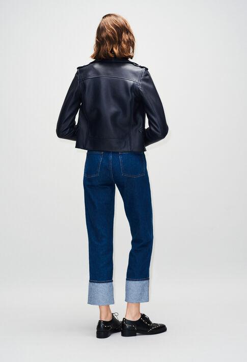 COQUILLETTEH19 : Manteaux et Blousons couleur MARINE
