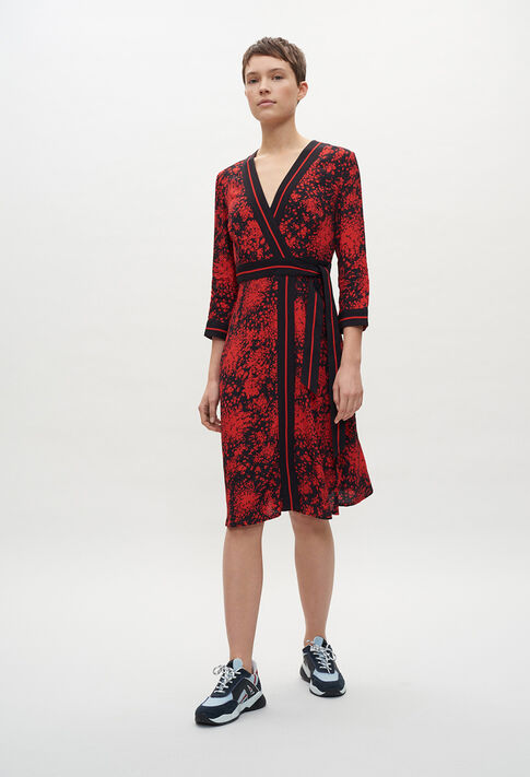RESISE20 : Robes couleur PRINT FONCE