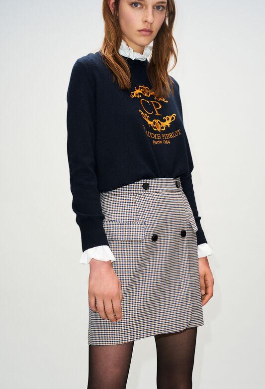 cc28f5900ce5e Jupes & shorts femme : jupe imprimée, retro | Claudie Pierlot