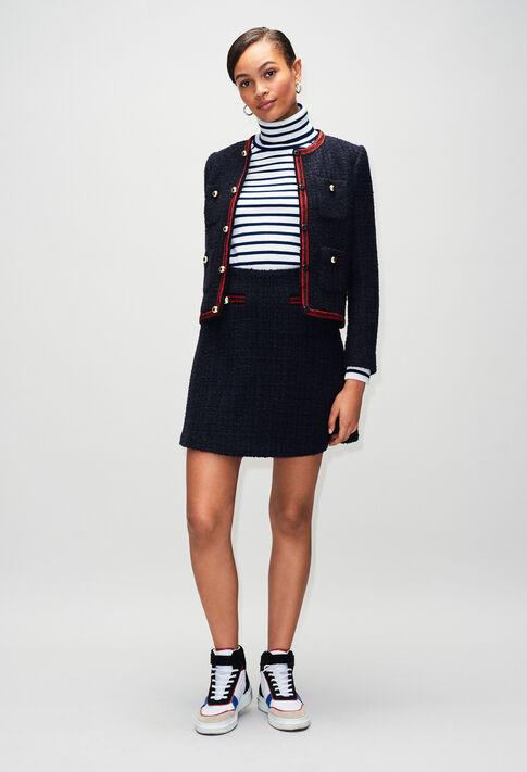 SAVANAH19 : Jupes et Shorts couleur MARINE