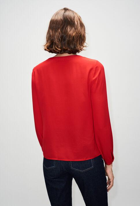 BALADINEH19 : Tops et Chemises couleur COQUELICOT
