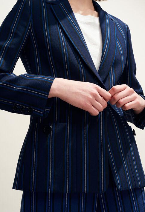 VAHINE : Vestes couleur INDIGO