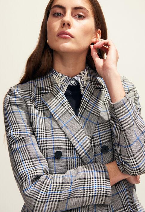 GABON : Manteaux et Blousons couleur Gris Chine