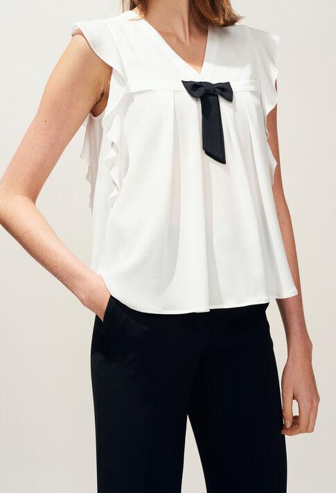BRAVA : Tops et Chemises couleur Ecru