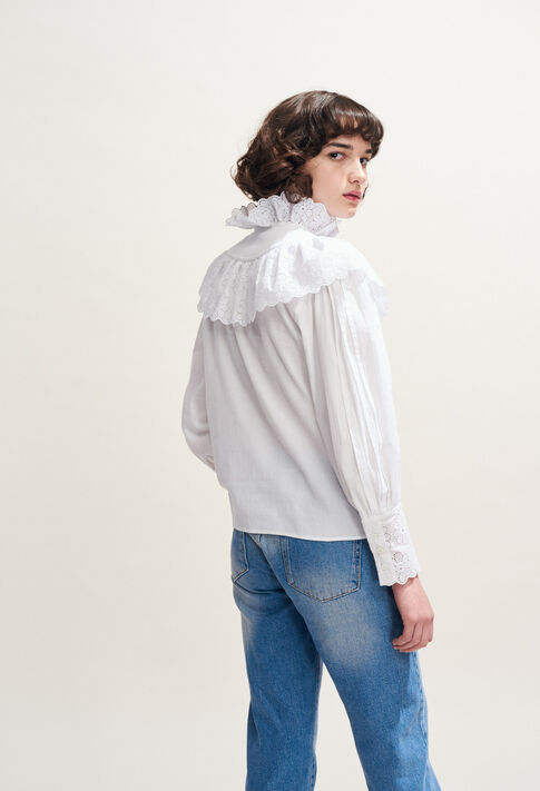 CALMI : Tops & chemises couleur Blanc