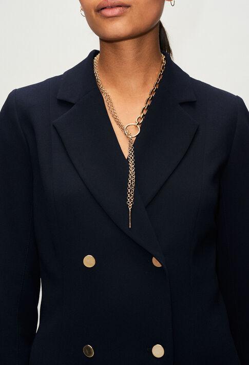 ACOLLIERCHAINV1H19 : Bijoux couleur LIGHT GOLD