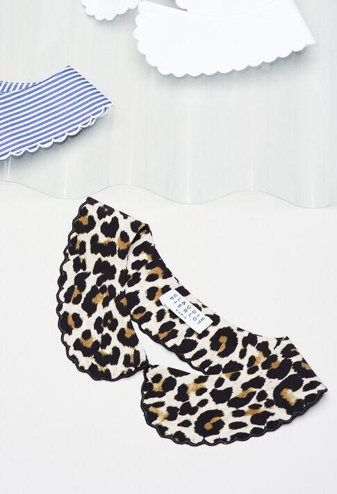 ABBYLEOPARDH19 : Foulards & Écharpes couleur PRINT