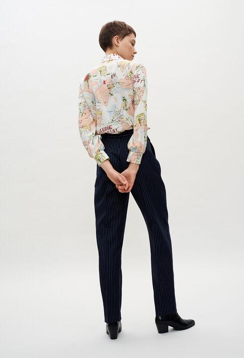 PALAE20 : Pantalons et Jeans couleur BICOLORE