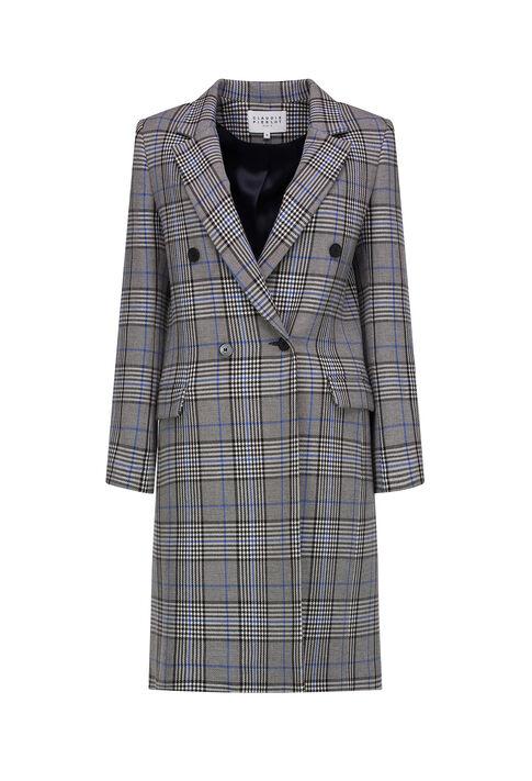 GABON : Coats & Jackets couleur Gris Chine