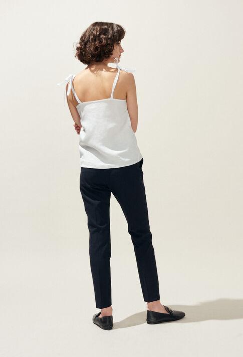 BLOUSY : Tops et Chemises couleur Ecru