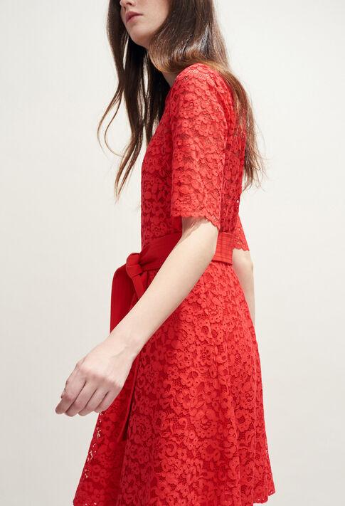 ROSELIE BIS : Robes couleur ECARLATE