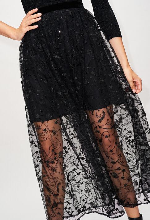 SALOMEEH19 : Jupes et Shorts couleur NOIR