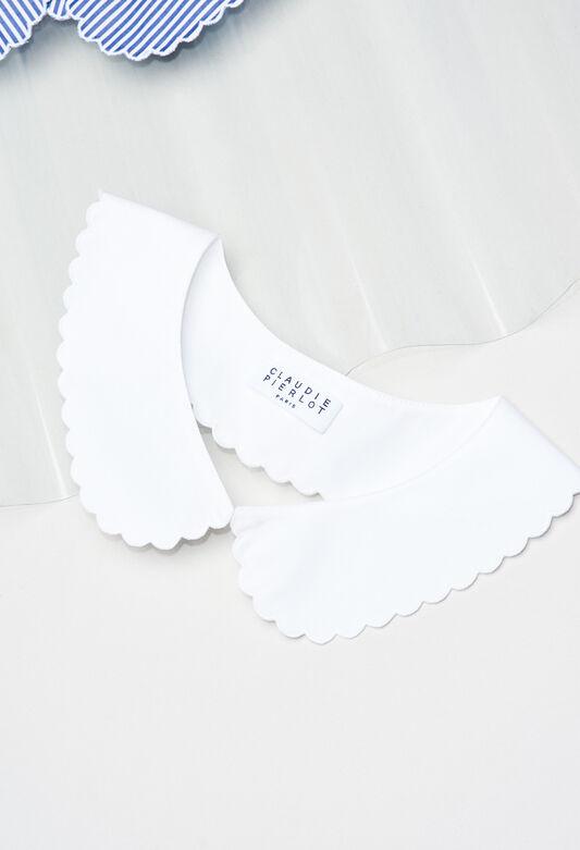 ABBYH19 : Foulards & Écharpes couleur BLANC