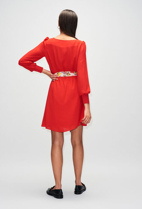 RAVAGEUSEH19 : Robes couleur ROUGE