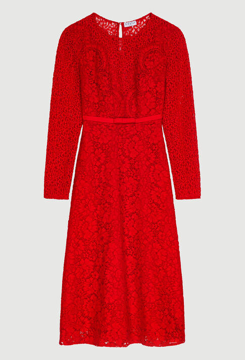 RABONIE20 : Robes couleur ROUGE