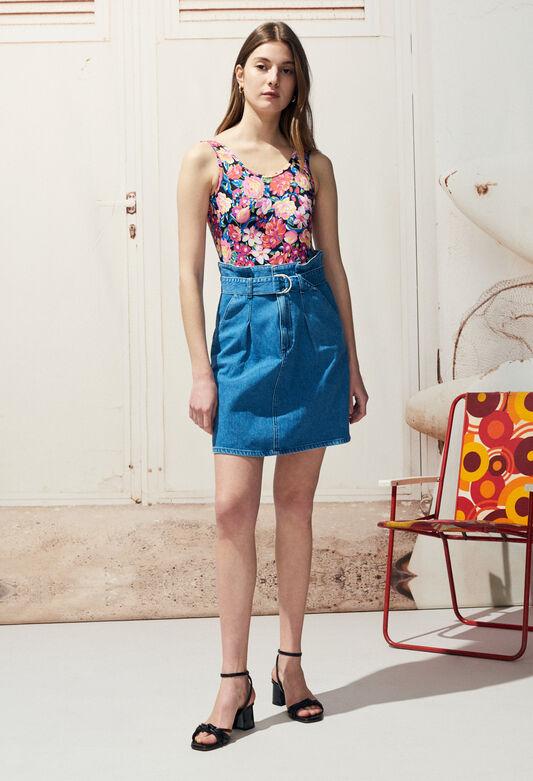 STELLE : Jupes et Shorts couleur J001