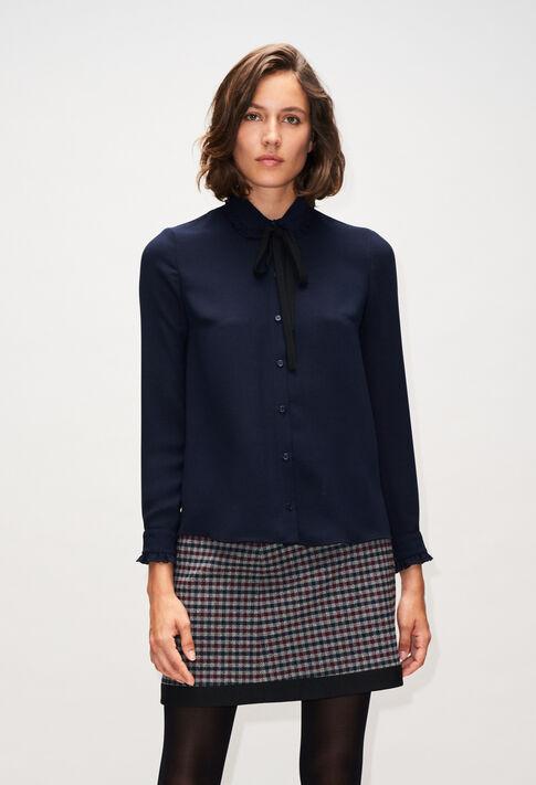CATEBISH19 : Tops et Chemises couleur MARINE