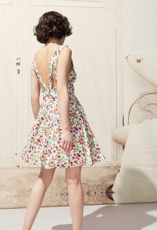 RENCONTRE FLEURS : Robes couleur MULTICO