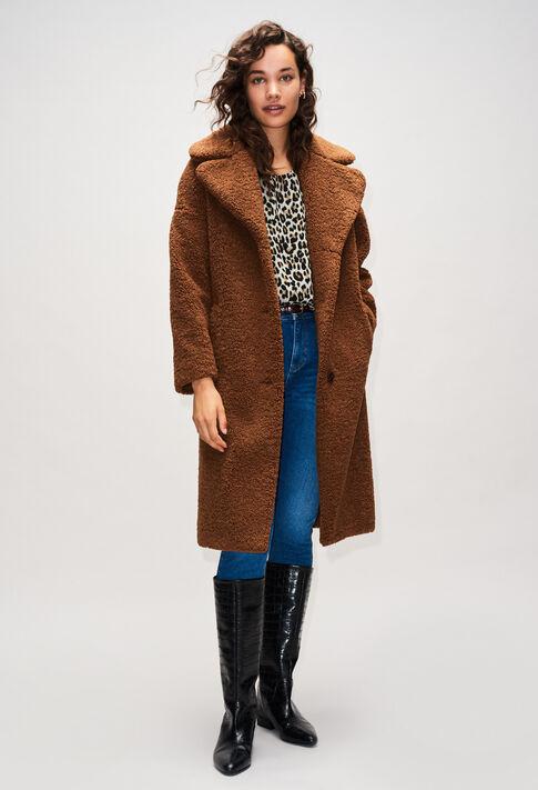 FEDORAH19 : Manteaux et Blousons couleur OURSON