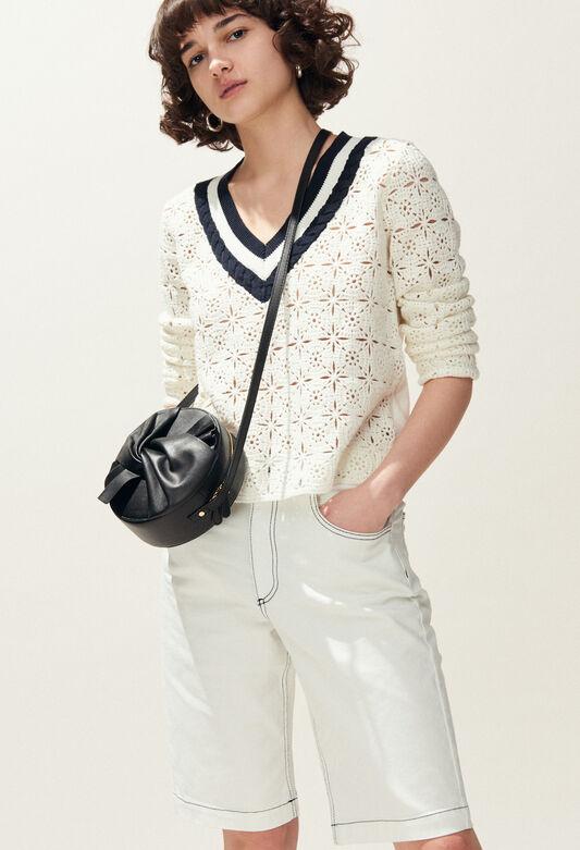 MAINATE : Maille & Sweatshirts couleur ECRU
