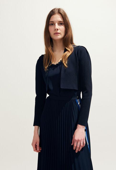 MALTAH19 : Maille & Sweatshirts couleur MARINE