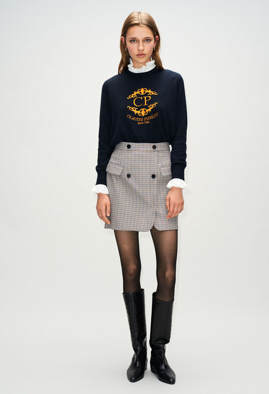 9bf462736 Mailles & sweatshirts femme : sweat à message | Claudie Pierlot
