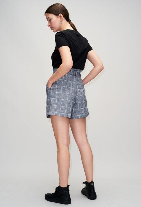 EDWARDBISH19 : Jupes et Shorts couleur GRIS MELANGE