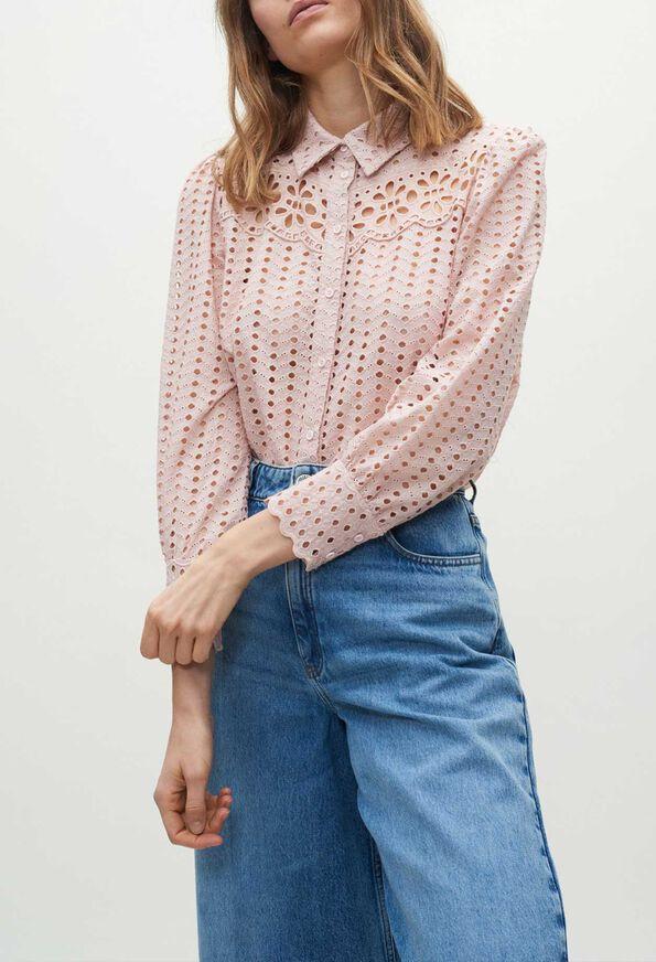 CLASSE20 : Tops et Chemises couleur POUDRE