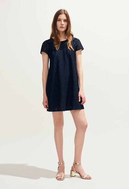 RADIEUSE DENTELLE : Robes couleur MARINE