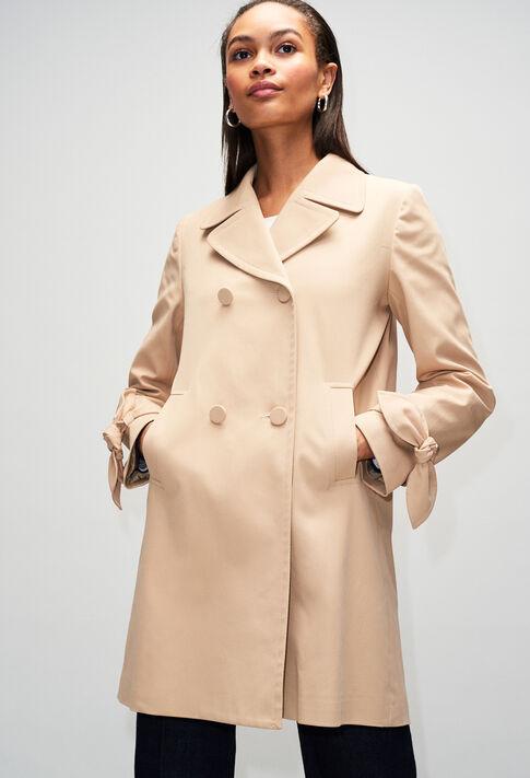 GENZIANAH19 : Manteaux et Blousons couleur BEIGE