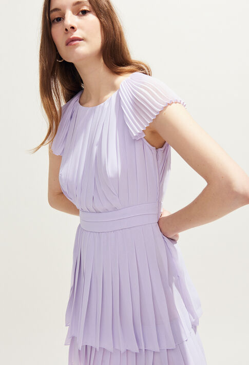 RIZA : Robes couleur Lilas