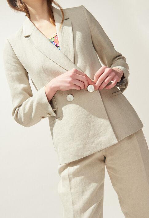 VALOR : Manteaux et Blousons Nouvelle co couleur Naturel