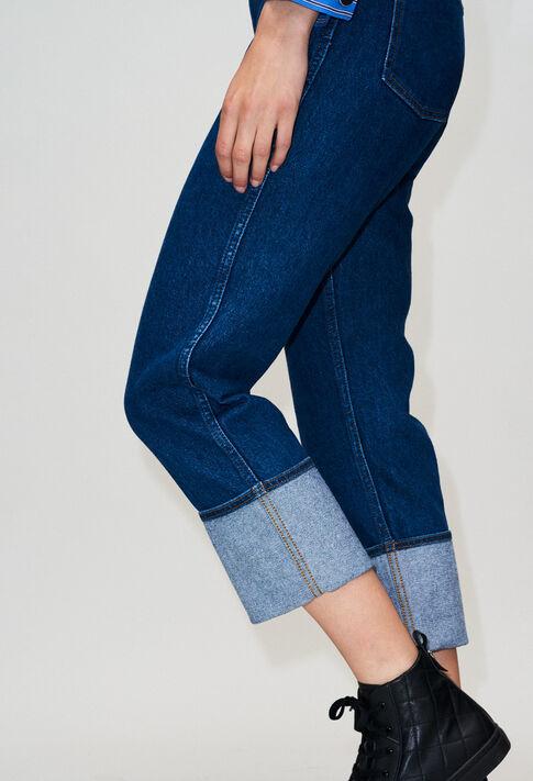 POPH19 : Pantalons et Jeans couleur JEAN