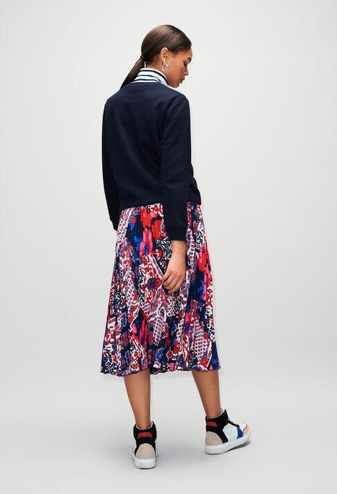 TAVIH19 : Maille & Sweatshirts couleur MARINE