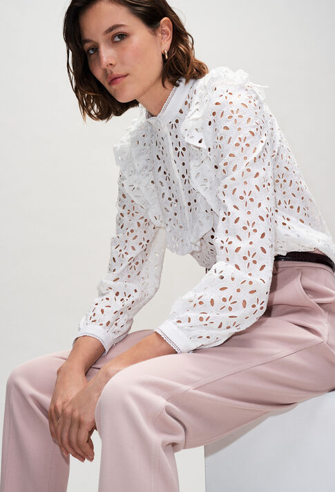 BICHEH19 : Tops et Chemises couleur ECRU