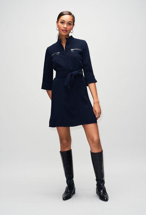 REDH19 : Robes couleur MARINE