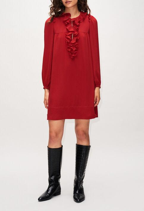 ROXANEH19 : Robes couleur CERISE